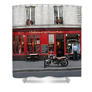 A Stop Along The Journey Shower Curtain