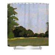 A Streak Of Sun - Queeny Park Shower Curtain