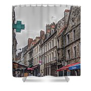 A Street In Boulogne Shower Curtain