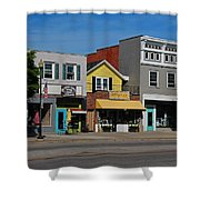 A Street In Perrysburg I Shower Curtain
