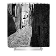 A Street In Sicily Shower Curtain