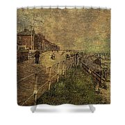 A Stroll Along The Seafront Shower Curtain