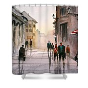 A Stroll In Italy Shower Curtain