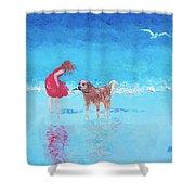 A Summer Breeze Shower Curtain