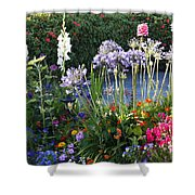 A Summer Garden Shower Curtain
