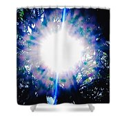 A Sun Burst Of Spring Time Shower Curtain