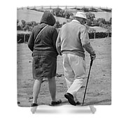 A Sunday Stroll In The Country Shower Curtain
