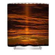 A Sunset Shower Curtain