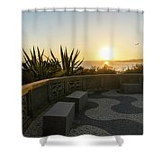 A Sunset Relaxation Zone - Shower Curtain