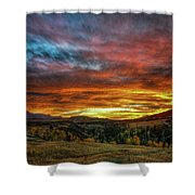 A Sunset To Remember Shower Curtain