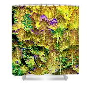 A Surreal Environment Shower Curtain