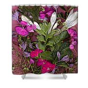 A Symphony Of Flowers Shower Curtain