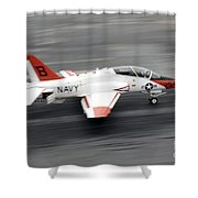 A T-45c Goshawk Training Aircraft Makes Shower Curtain