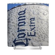 A Tall Cold One Shower Curtain