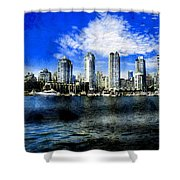 A Tale Of Two Cities Shower Curtain