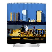 A Tampa Bay Florida Summer Shower Curtain