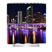 A Tampa Night Shower Curtain