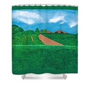 A Taste Of Tuscany Shower Curtain