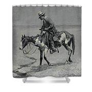 A Texas Pony Shower Curtain