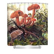 A Thorny Situation Shower Curtain