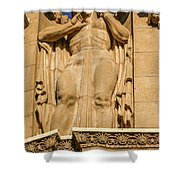 A Time After Time Shower Curtain