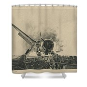 A Time For Courage Shower Curtain