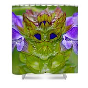 A Tiny Flower King Shower Curtain