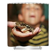 A Toad For You Shower Curtain
