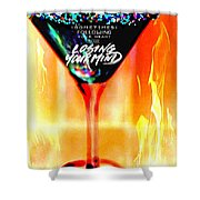 A Toast To The Heart And Mind Shower Curtain