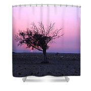 A Touch Of Alone Shower Curtain