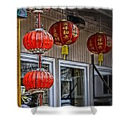 A Touch Of China Shower Curtain