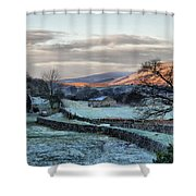 A Touch Of Frost In Swaledale Shower Curtain