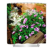 A Touch Of Nature Shower Curtain