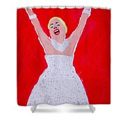 A Touch Of Star Quality Shower Curtain