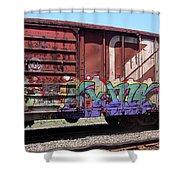 A Train Car Named Desire Shower Curtain