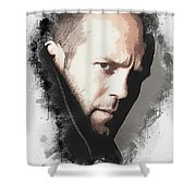 A Tribute To Jason Statham Shower Curtain