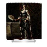 A Turkish Lady Shower Curtain