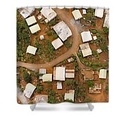 A Typical Indigenous Village Shower Curtain