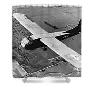 A U.s. Army Air Force Waco Cg-4a Glider Shower Curtain by Stocktrek Images