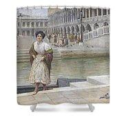 A Venetian Beauty Shower Curtain