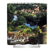 A View From Blarney Castle In Ireland Shower Curtain