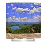 A View From Table Rock South Carolina Shower Curtain