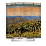 Equinox Mountain, Vermont.             Shower Curtain