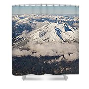 A View From Zugspitze Shower Curtain