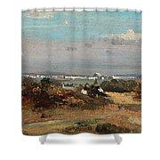 A View In Suffolk Shower Curtain