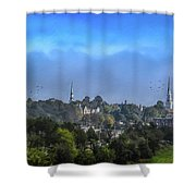 A View Of Bangor Shower Curtain