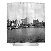 A View Of Miami Shower Curtain
