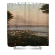A View Of Penzance Shower Curtain
