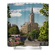 A View Of St Mary's Shower Curtain