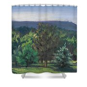 A View Of The Catskill Mountains Shower Curtain